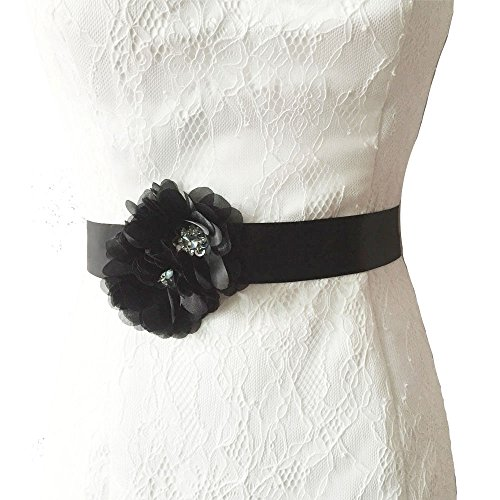 Azaleas Wedding Sash Bridal Belts Wedding Dress Belts With Flowers