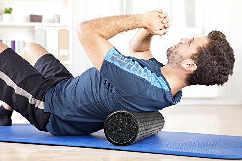 Foam Roller,FitPlus Premium Epe Foam Roller Extra Firm With 10 Year Warranty Free Online VIDEO AND E BOOK INSTRUCTION GUIDE High Density Foam Rollers For back,legs
