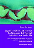 Layer Formation and Thermal Performance, Drew Davidson, 383646179X