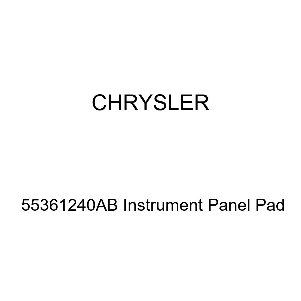 Genuine Chrysler 55361240AB Instrument Panel Pad