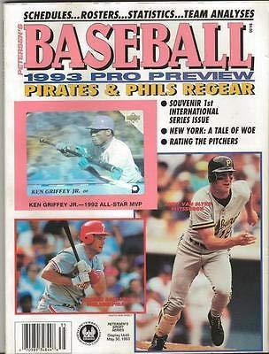 (1993 Petersen's Baseball Preview Magazine w/Ken Griffey Jr Upper Deck Hologram)