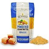 PB Trimmed SALTED CARAMEL Premium Powdered Peanut Butter - 6.5 oz Pouch. (Salted Caramel, 6.5 oz)