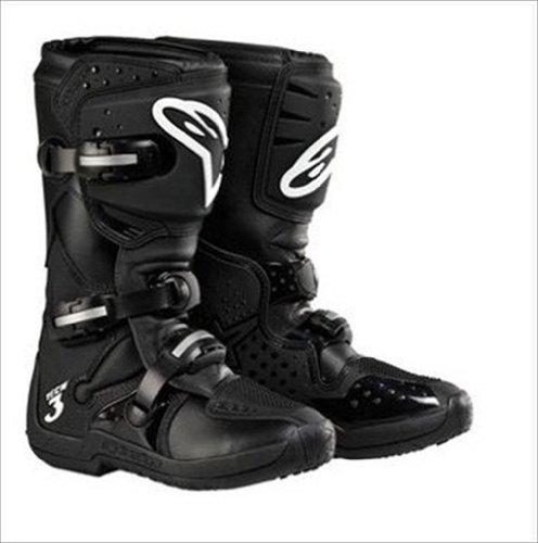 Alpinestars Stella Tech 3 Womens MX Boots Black 8 USA