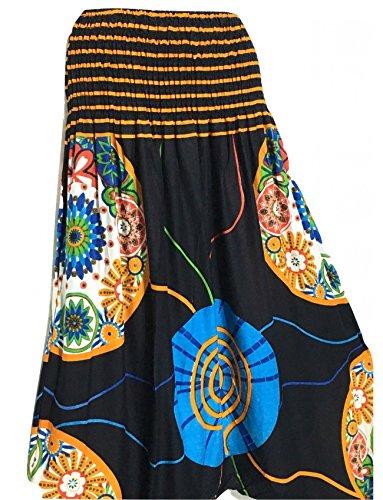 La Boutik de Satyam - Pantalón - para mujer negro