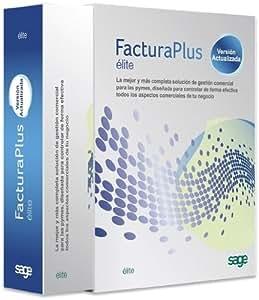 Sage Software FacturaPlus Elite 2013 - Software de análisis financiero (300 MB, 1024 MB, Internet Explorer 7.0+ Microsoft Office/Open Office 2003 1024 x 768 DVD-ROM, ESP)