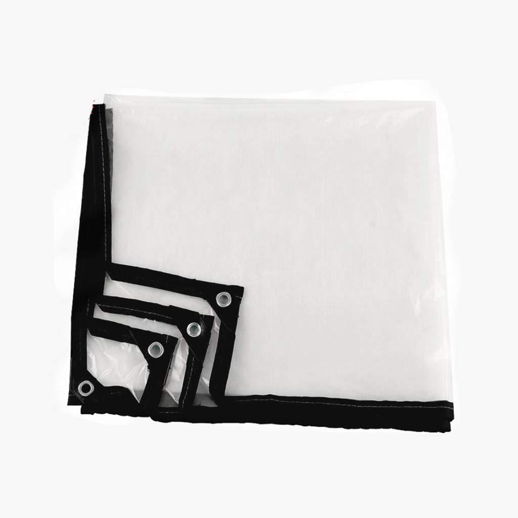 36m PENGJUN Tissu en Plastique épaississeHommest Transparent bÂche imperméable en Tissu bÂche imperméable Anti-Gel bÂche d'isolation Il est grandHommest utilisé