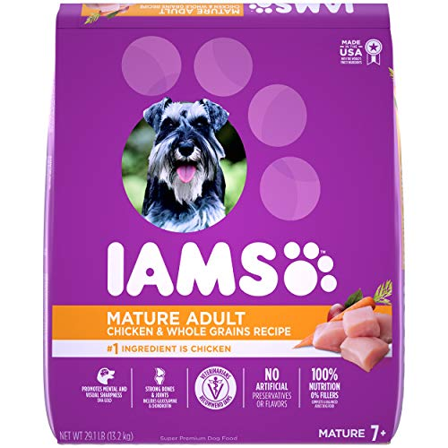 IAMS Senior Dry Dog Food, Chicken, All Breed Sizes