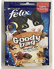 Felix Goody Bag Cat Treat Set - Mixed Grill (Chicken, Lver, Grass) 2 oz