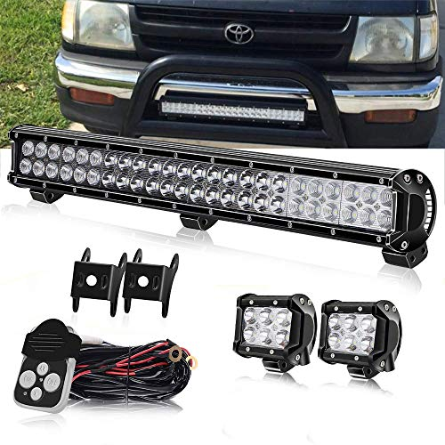 4XBEAM DOT Approved 23 Inch 144W LED Light bar + 2PCS, used for sale  Delivered anywhere in Canada