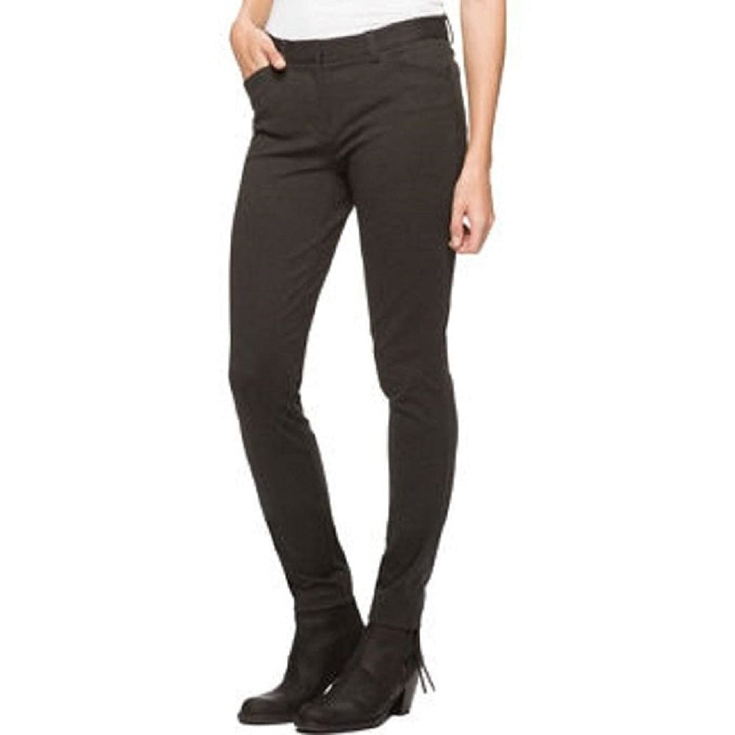 Andrew Marc Womens Ponte Stretch Pant