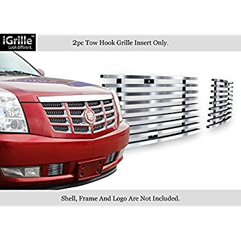 APS Fits 2007-2014 Cadillac Escalade Stainless Steel Lower Bumper Billet Grille #A66482C