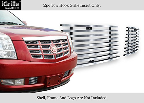 APS Fits 2007-2014 Cadillac Escalade Stainless Steel Lower Bumper Billet Grille #A66482C -