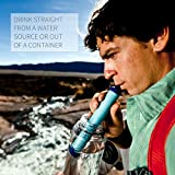 LifeStraw Personal Water Filter for Hiking, Camping, Travel, and Emergency Preparedness, LSPHF017 Variant Image