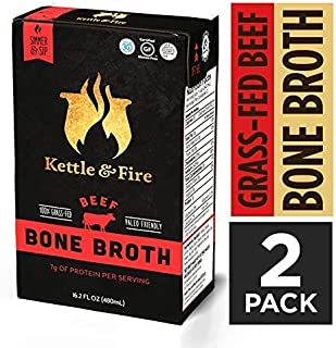 product image for Beef Bone Broth Soup by Kettle and Fire, 2 Pack