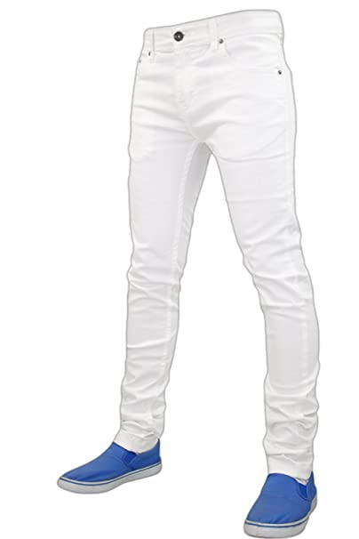 c61bc970b91 True Face Mens Jeans Denim Skinny Slim Fit Stretch Trousers Pants   Amazon.co.uk  Clothing