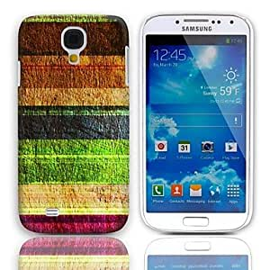 NEW Vintage Stripes Pattern Hard Case with 3-Pack Screen Protectors for Samsung Galaxy S4 I9500