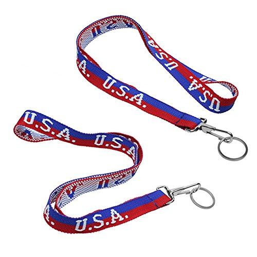 American Flag Lanyard - 9
