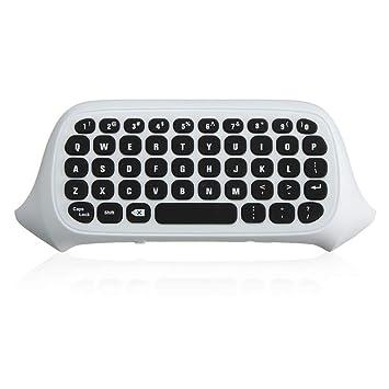 PMWLKJ 47 Teclas 2.4g USB Mini Wireless Message Teclado Teclado ...