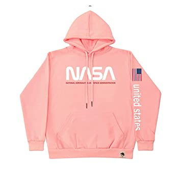 LLO NASA Astronauta Spaceman Coat para Hombre con Capucha de Manga Larga con Capucha Hombres Mujeres Sudadera con Capucha más Terciopelo Engrosamiento ...