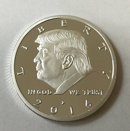 Aizics Mint President Donald Trump 2016 Silver Plated