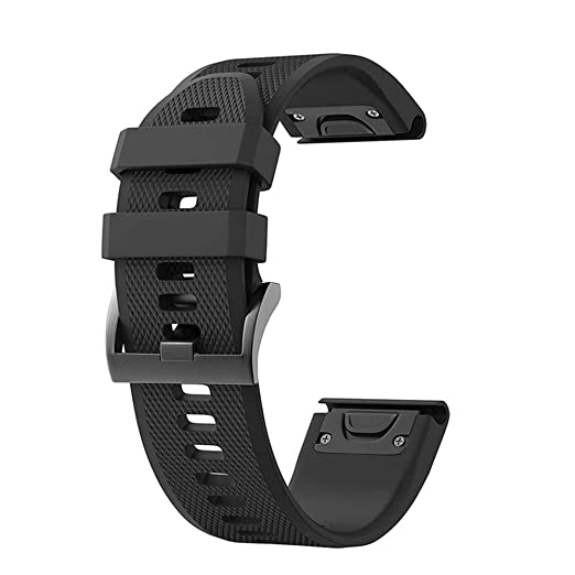 Correa de Reloj de Silicona para Garmin Fenix 5X, leegoal 26mm de liberación rápida Easy