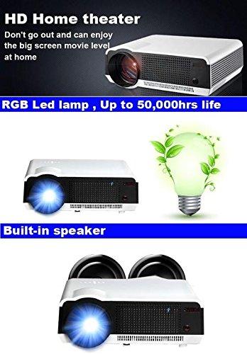 Amazon.com: Gowe Full HD 200W LED lamp 3500Lumen 1280*800 ...