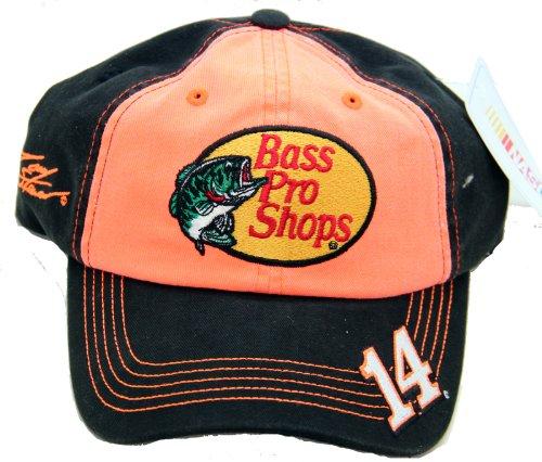 NASCAR Bass Pro Shops #14 Tony Stewart Racing Cap Hat Adjustable (Hat Pro Racing)