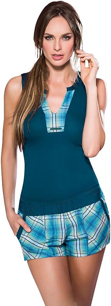 Adriana Arango Pijama 2 Piezas Short para Mujer