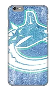 Exultantor High-end Case Cover Protector For Iphone 6 Plus(vancouver Canucks Nhl Hockey 1)