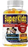 Kids Omega 3 Gummy Vitamins, DHA Supplements, Brain Support Formula, Memory Supplement for Brain, Attention, Focus, Concentration, Kids Immune Support, Chewable Kids Gummy Multivitamins