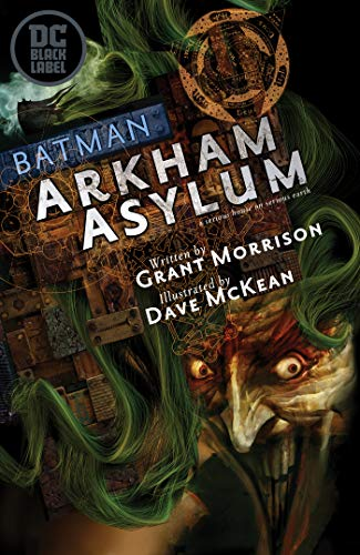 Pdf Graphic Novels Absolute Batman: Arkham Asylum (30th Anniversary Edition)