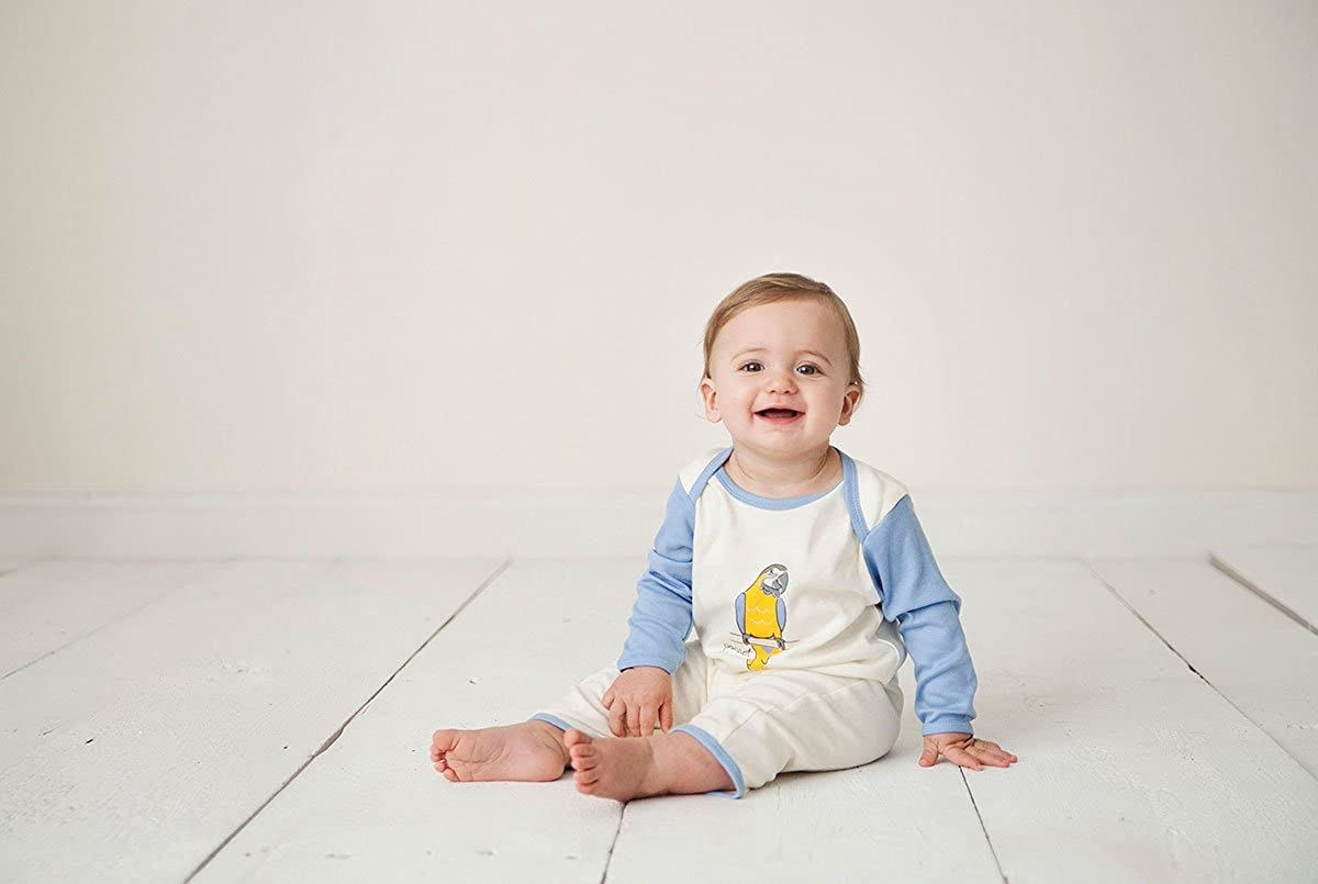 Touched by Nature Boys Unisex Baby Organic Cotton Coveralls and Union Suits