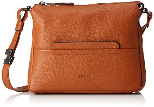 saddle Brown Shoulder Bree Collection A Tracolla S Cross Black Braun Donna Faro Da Borsa 1 wqORqB46