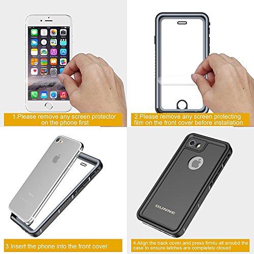 buy online 759e6 33cc4 OUNNE iPhone 6/6s Waterproof Case, Shockproof Dustproof Waterproof ...