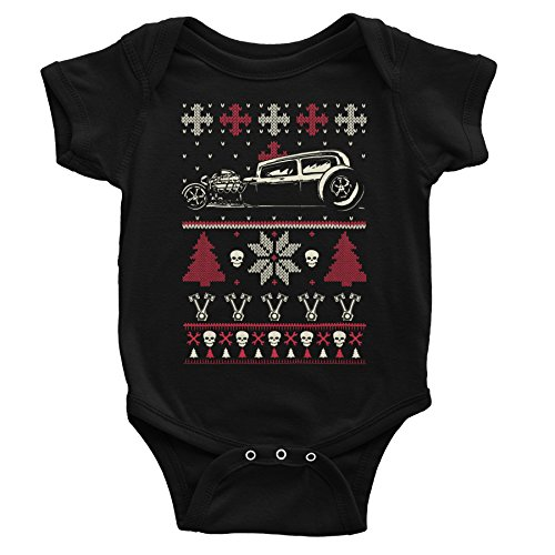 GearHead Hot Rod Christmas Onesie