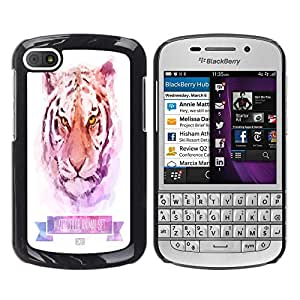Dragon Case - FOR BlackBerry Q10 - Success is the ability - Caja protectora de pl??stico duro de la cubierta Dise?¡Ào Slim Fit