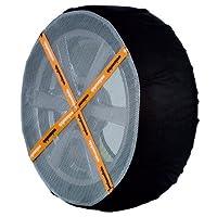 Pair WeissSock Car Snow Ice Sock Chains Tyre 225 / 40 R18 Amazing Grip on Snow