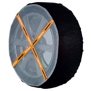 WeissSock - Funda de nieve y hielo para ruedas (1 par, neumáticos 175 R14)