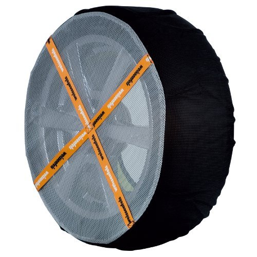 Pair WeissSock Car Snow Ice Sock Chains Tyre 225 / 40 R18 Amazing Grip on Snow Weissenfels