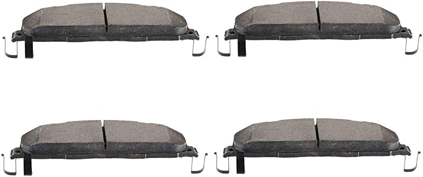 2011 2012 2013 2014 For Ram 2500 Rear Ceramic Brake Pads