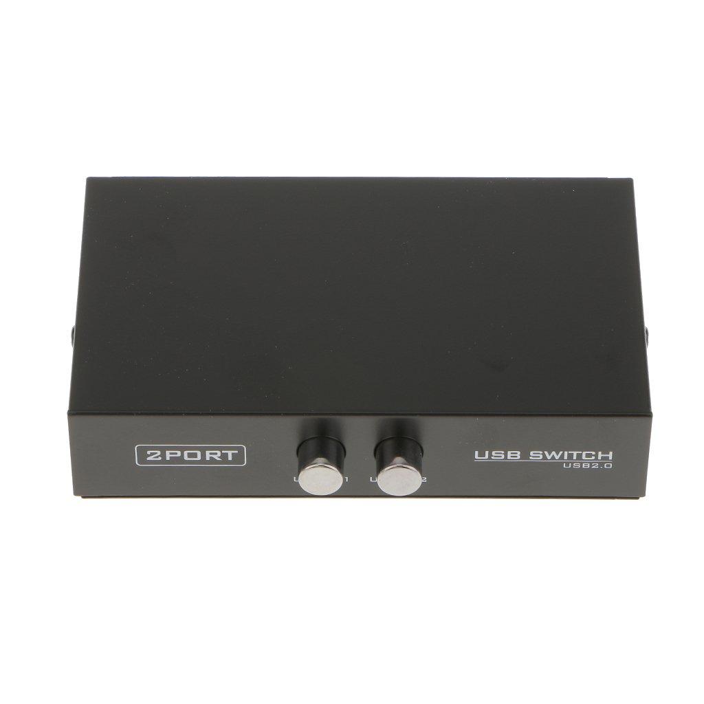 USB 2.0 Umschalter Switch 2-Port für Drucker: Amazon.de: Elektronik