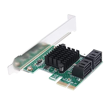 Zinniaya Adaptador de Tarjetas PCIE SATA 3.0 Tarjeta PCI-E ...