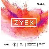 D'Addario Zyex Bass E-String, 4/4 Scale, Medium Tension