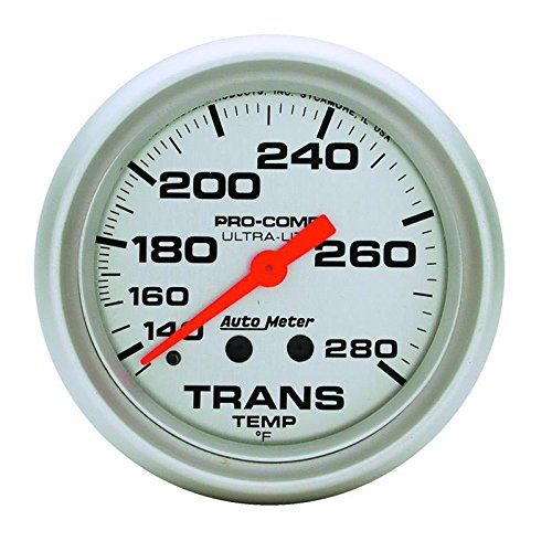 8 LINE MECH UL 140-280`F Autometer 4451 2-5//8 TRANS TEMP