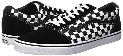 Basses canvas Ward Suede Sneakers Pvj Vans Noir Homme checker White true Black EwgqIWH