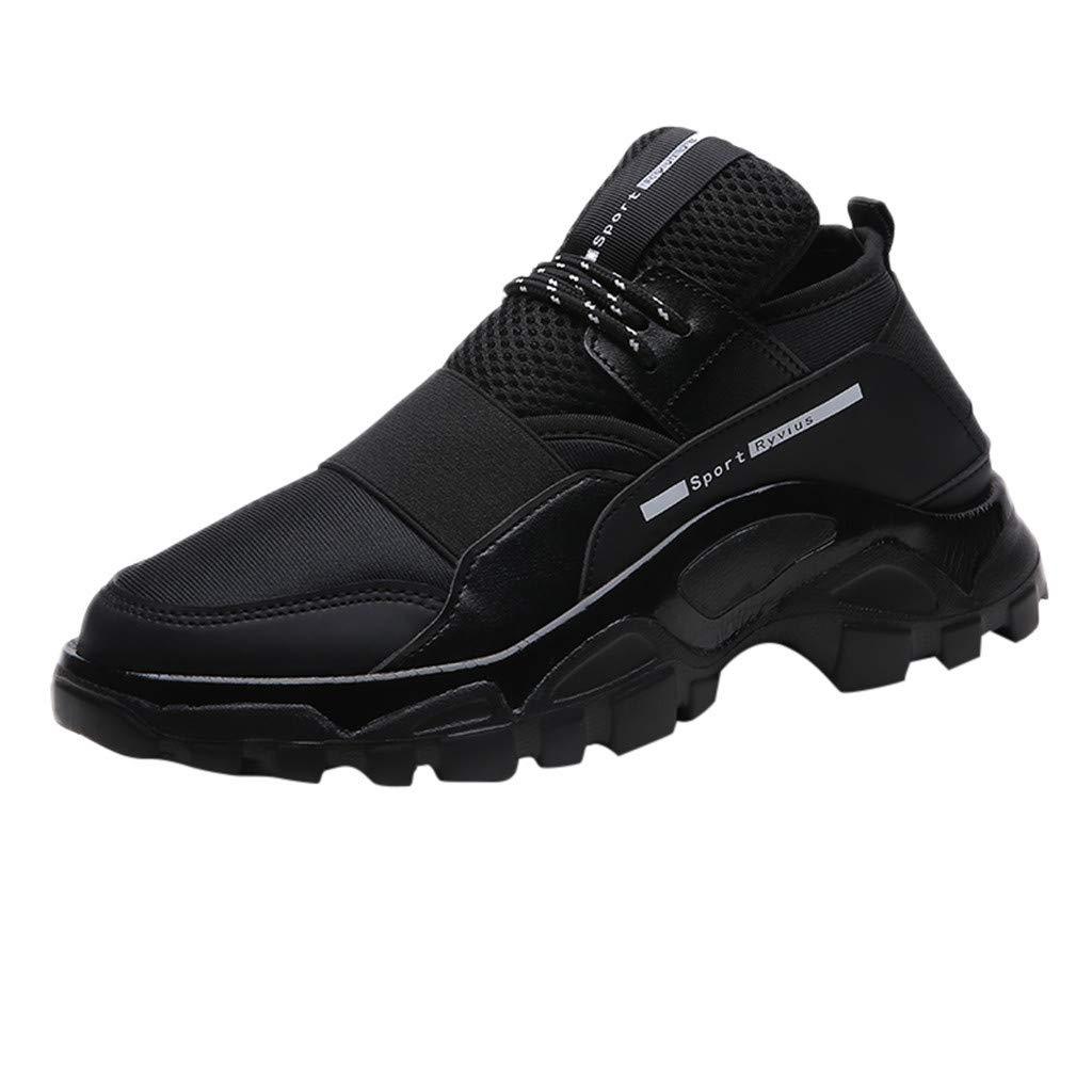 76fb45cc987f3 Amazon.com | Mysky Fashion Men Casual Mixed Color Comfortable ...