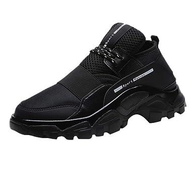 UOMOGO Uomo Donna Scarpe da Ginnastica Sportive Sneakers Running Basse  Basket Sport Outdoor Fitness Respirabile Mesh c364f0f4cea