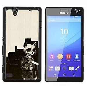 - Panda Cute Face - - Cubierta del caso de impacto con el patr??n Art Designs FOR Sony Xperia C4 Queen Pattern