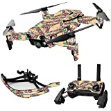 MightySkins Skin For DJI Mavic Air Drone - Grasshopper | Max Combo | Protective, Durable, and Unique Vinyl Decal wrap cover | Easy To Apply, Remove, and Change Styles | Made in the USA