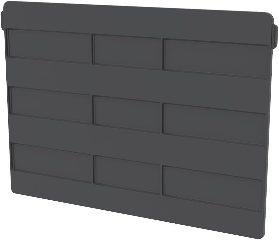 Akro-Mils 41270 Crosswise Width Divider for 30270 Akro Bin, Black, 6-Pack